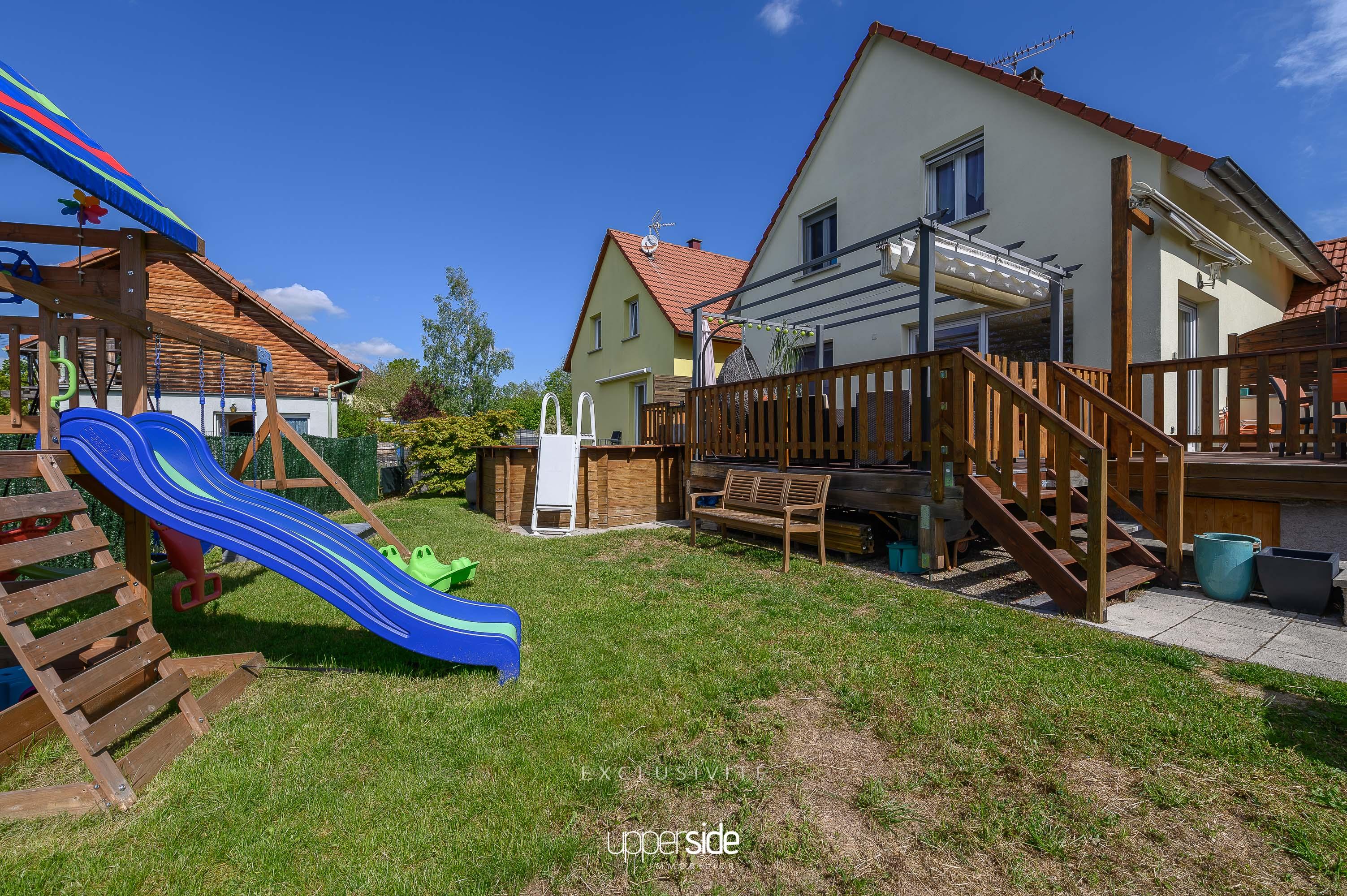 ROMAGA – Maison récente 4/5 pièces avec piscine Image